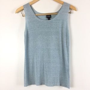 EILEEN FISHER Linen/ Silk Camisole Top